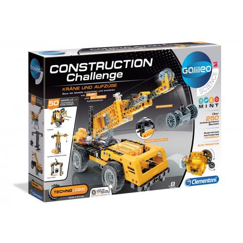 CLEMENTONI Construction Challenge - Kräne und Aufzüge