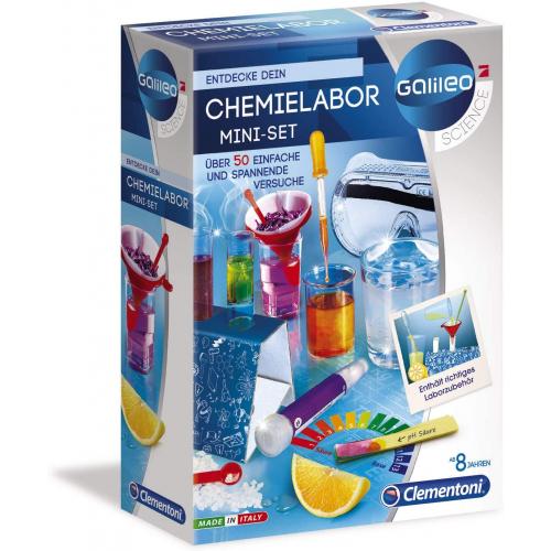 CLEMENTONI Chemielabor Mini-Set