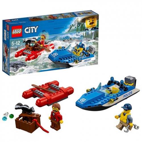 LEGO 60176 CITY -  Gebirgspolizei Flucht durch die Stromschnellen