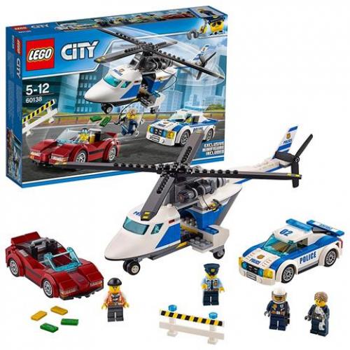 LEGO 60138 CITY - Polizei Rasante Verfolgungsjagd