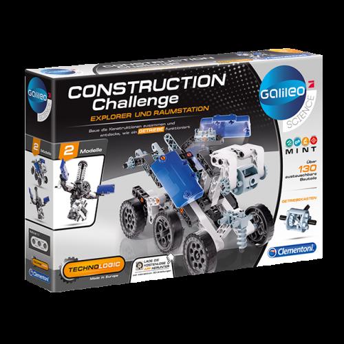 CLEMENTONI Construction Challenge - Explorer und Raumstation