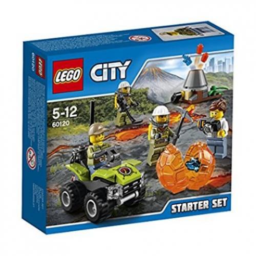 LEGO 60120 CITY - Vulkan Starter-Set