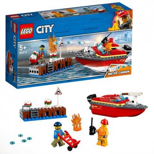 LEGO 60213 CITY - Feuerwehr am Hafen