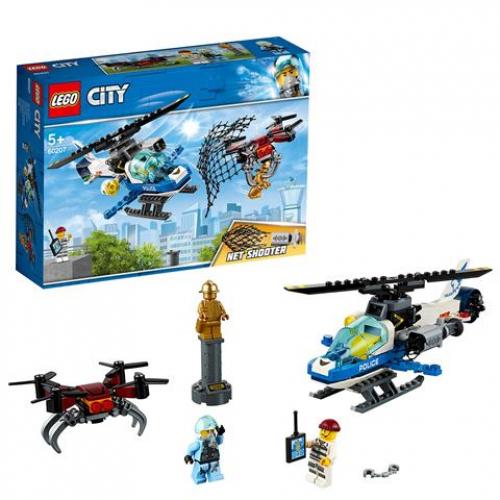 Lego 60207 CITY - Polizei Drohnenjagd
