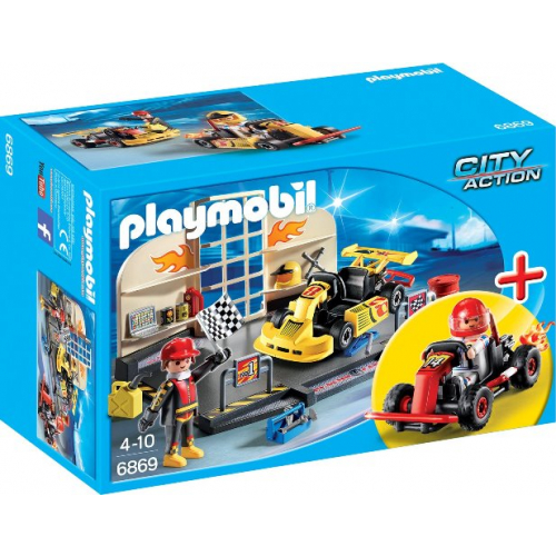 PLAYMOBIL 6869 - StarterSet Gokart-Werkstatt