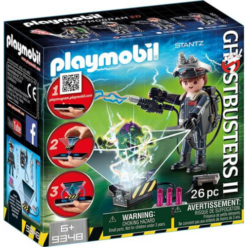 PLAYMOBIL 9348 - Geisterjäger Raymond Stantz Spiel