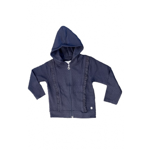 TOMN TAILOR Mini Sweatjacke Md. langarm