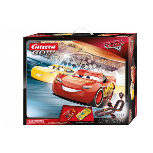 CARRERA GO!!! Disney Pixar Cars - Fast Friends