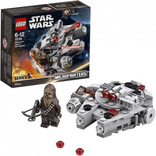 LEGO 75193 Star Wars - Millennium Falcon™ Microfighter