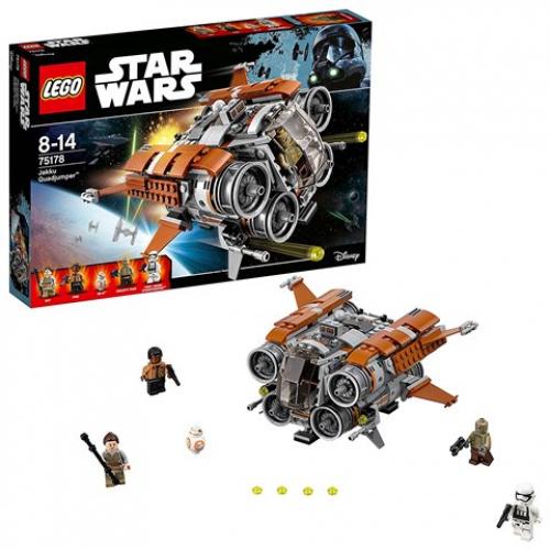 LEGO 75178 Star Wars - Jakku Quadjumper™ Raumschiff