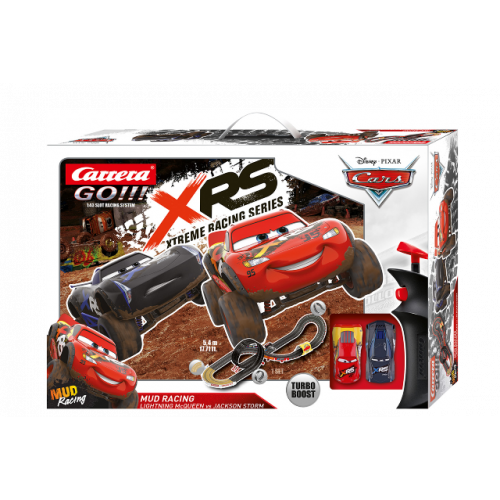 CARRERA GO!!! Disney Pixar Cars - Mud Racing