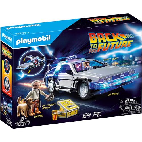 PLAYMOBIL 70317 - Back to the Future DeLorean mit Lichteffekten