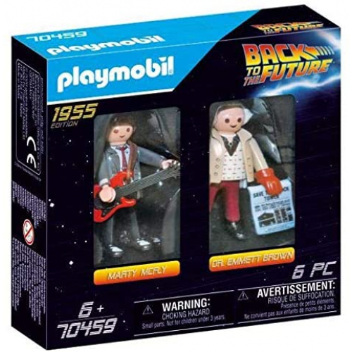 PLAYMOBIL 70459 - Back to the Future Marty Mcfly und Dr. Emmett Brown