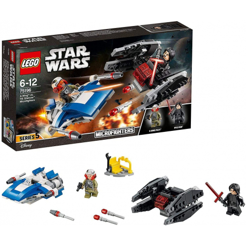 LEGO 75196 Star Wars -  A-Wing™ vs. TIE Silencer™ Microfighters