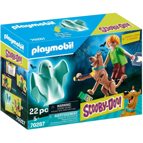 Playmobil 70287 - SCOOBY-DOO! Scooby und Shaggy mit Geist