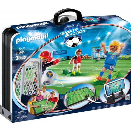 Playmobil 70244 - Große Fußballarena zum Mitnehmen