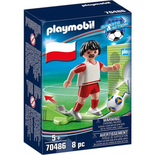 PLAYMOBIL 70486 - Nationalspieler Polen