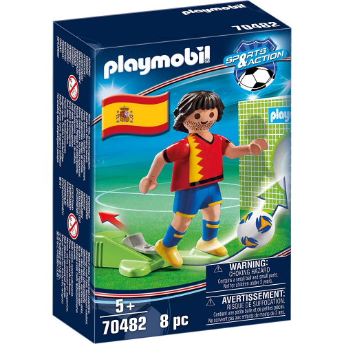 PLAYMOBIL 70482 - Nationalspieler Spanien