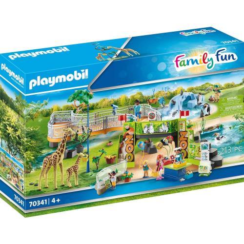 PLAYMOBIL 70341 - Mein großer Erlebnis-Zoo