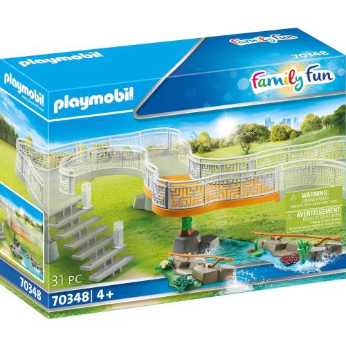 PLAYMOBIL 70348 - Erweiterungsset Erlebnis-Zoo