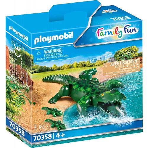 PLAYMOBIL 70358 - Alligator mit Babys