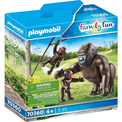 PLAYMOBIL 70360 - Gorilla mit Babys