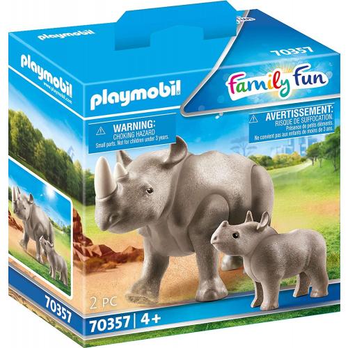 PLAYMOBIL 70357 - Nashorn mit Baby
