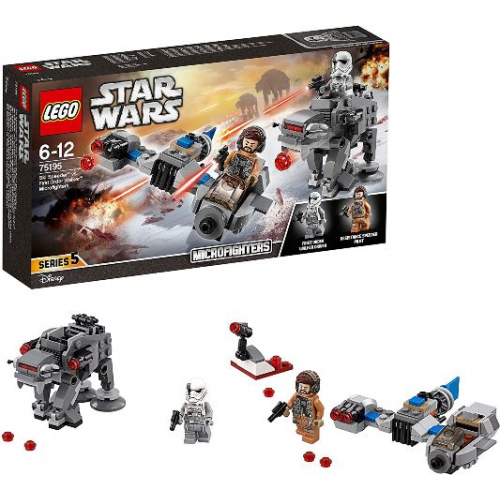 LEGO 75195 Star Wars-  Ski Speeder™ vs. First Order Walker Microfighters