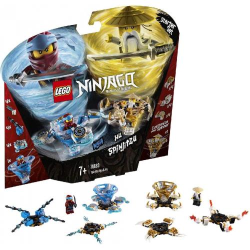 LEGO 70663 - Spinjitzu Nya & Wu