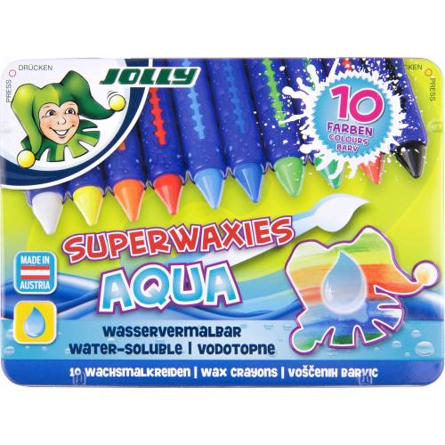 JOLLY Superwaxies Aqua 10 Farben