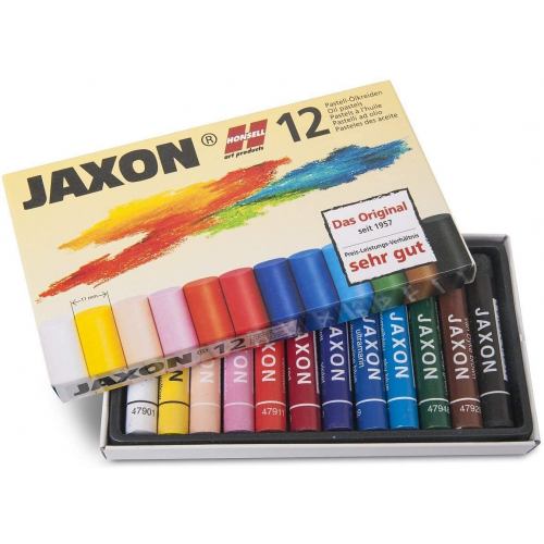 HONSELL 47412 - Pastell-Ölkreiden JAXON 12