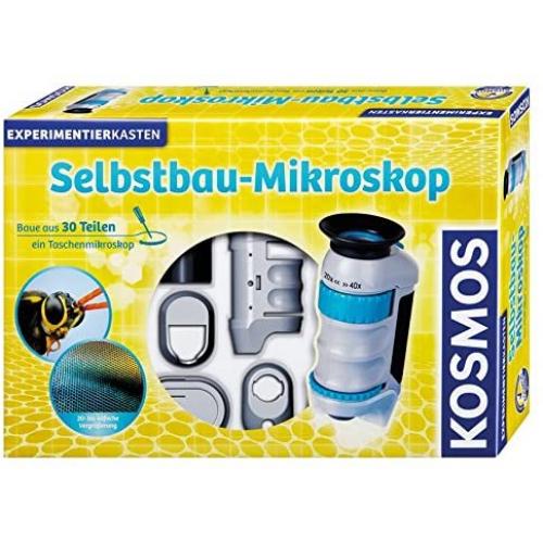 KOSMOS Selbstbau-Mikroskop, Experimentierkasten