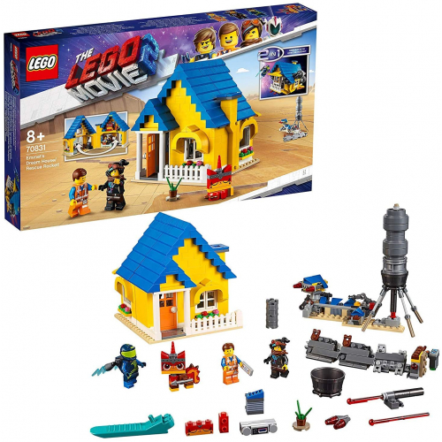 LEGO 70831 The Lego Movie 2 - Emmets Traumhaus/Rettungsrakete!