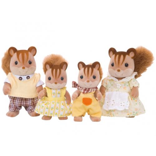 SYLVANIAN FAMILIES - Walnuss Eichhörnchen Familie