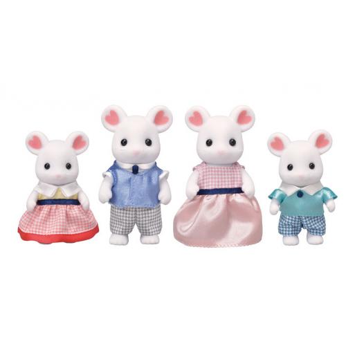 SYLVANIAN FAMILIES - Marshmallow Mäuse Familie