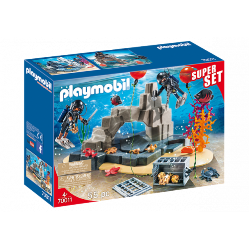 PLAYMOBIL 70011 -  SuperSet SEK-Taucheinsatz