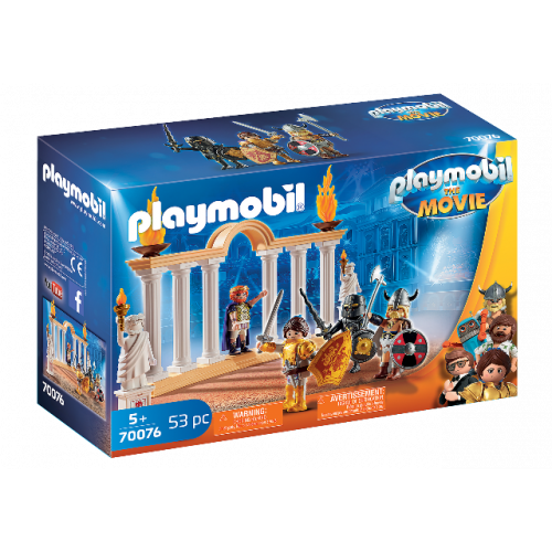 PLAYMOBIL 70076 - PLAYMOBIL:THE MOVIE Kaiser Maximus im Kolosseum