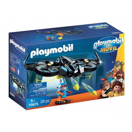PLAYMOBIL 70071 - PLAYMOBIL:THE MOVIE Robotitron mit Drohne