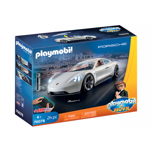 PLAYMOBIL 70078 - PLAYMOBIL:THE MOVIE Rex Dasher's Porsche Mission E