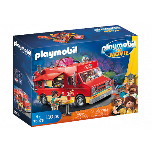 PLAYMOBIL 70075 - PLAYMOBIL:THE MOVIE Del's Food Truck