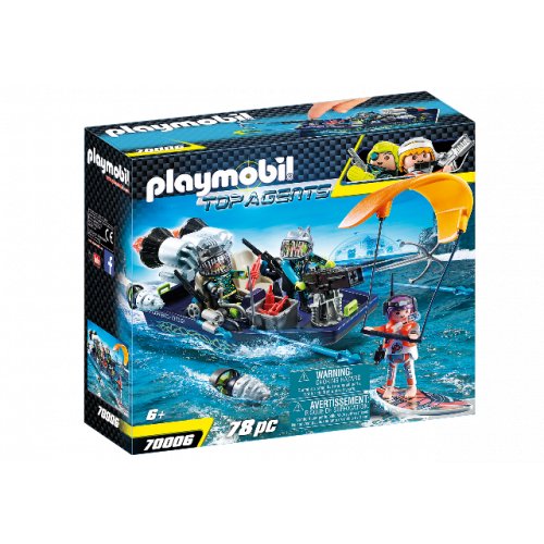 PLAYMOBIL 70006 - TEAM S.H.A.R.K. Harpoon Craft
