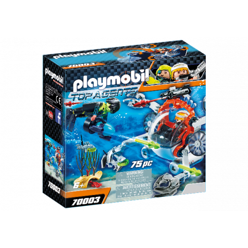 PLAYMOBIL 70003 - SPY TEAM Sub Bot