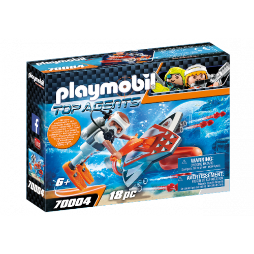 PLAYMOBIL 70004 - SPY TEAM Underwater Wing