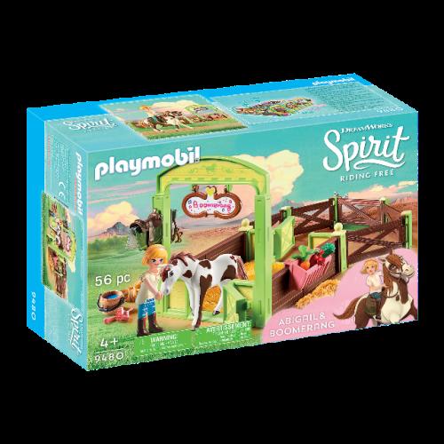 "PLAYMOBIL 9480 - Pferdebox ""Abigail & Boomerang"""