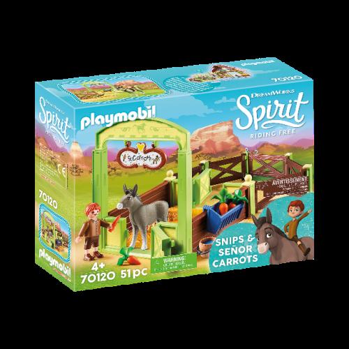 """PLAYMOBIL 70120 - Pferdebox """"Snips & Herr Karotte"""""""