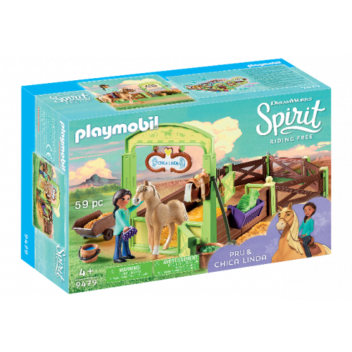 "PLAYMOBIL 9479 - Pferdebox ""Pru & Chica Linda"""