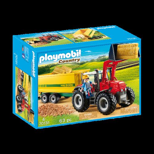 PLAYMOBIL 70131 - Riesentraktor mit Anhänger
