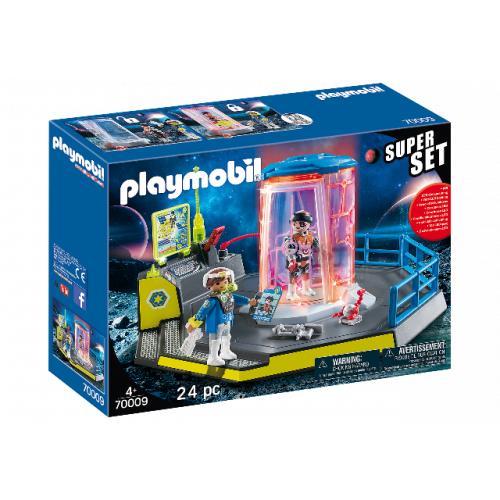 PLAYMOBIL 70009 - SuperSet Galaxy Police Gefängnis