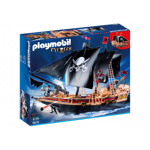 PLAYMOBIL 6678 - Piraten-Kampfschiff
