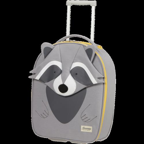 SAMSONITE HAPPY SAMMIES ECO Trolley mit 2 Rollen (Raccoon Remy)